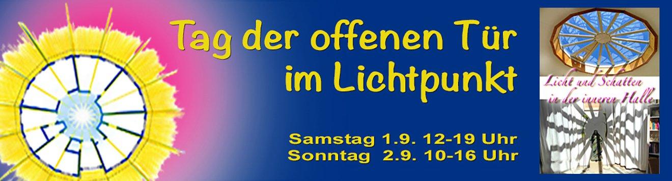 Banner Tag der offenen Tür